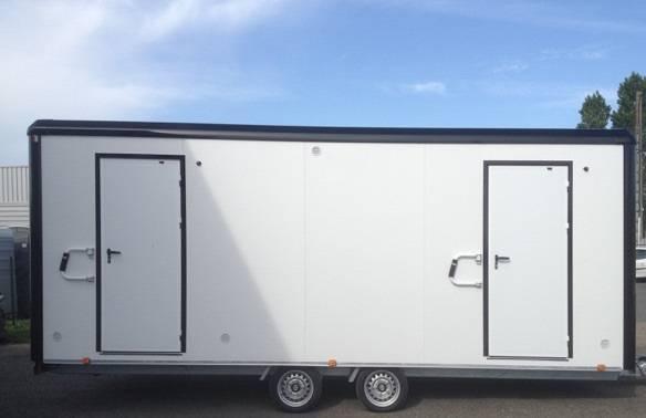 Caravane raccordable VIP